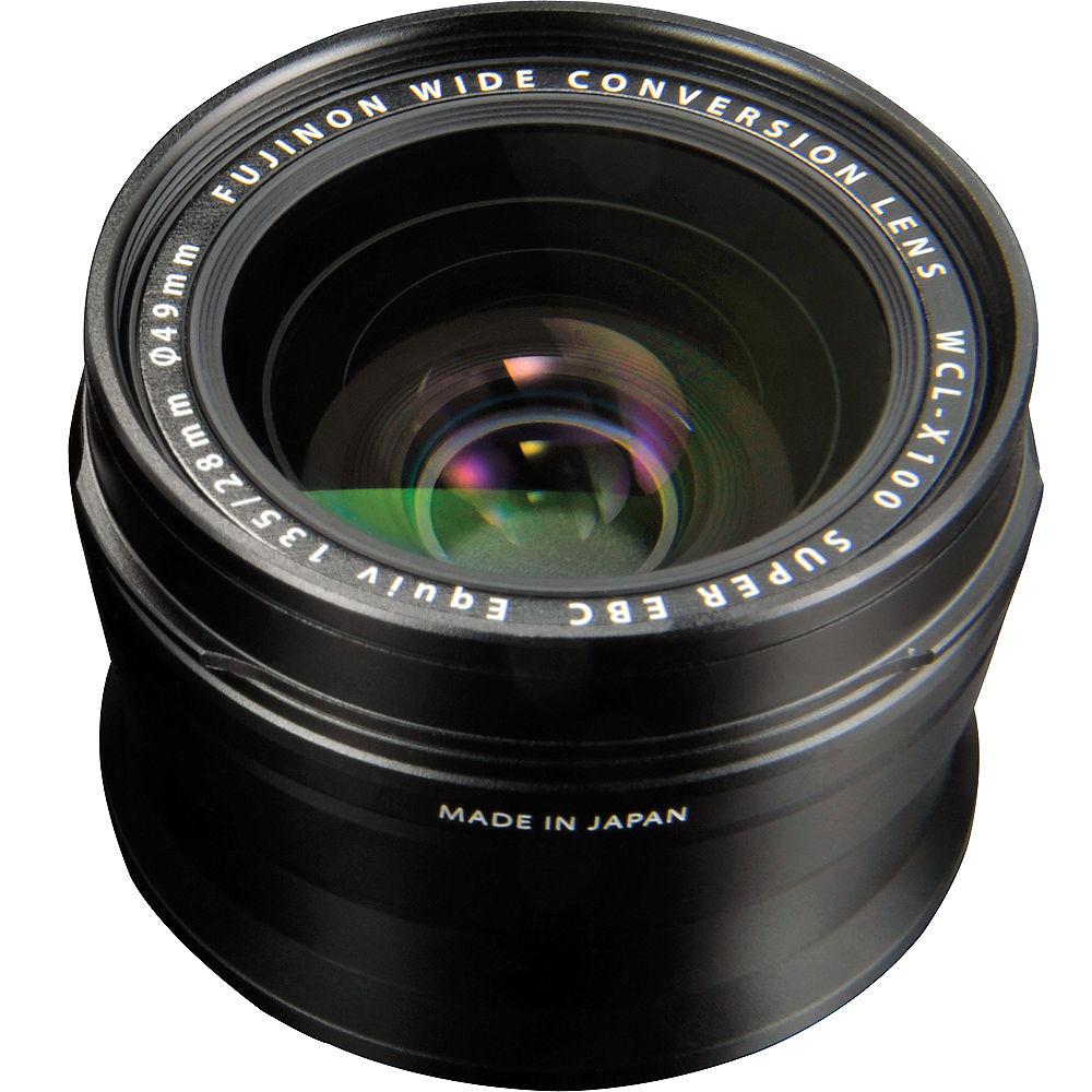 WCL-X100 II Wide Conversion Lens Black