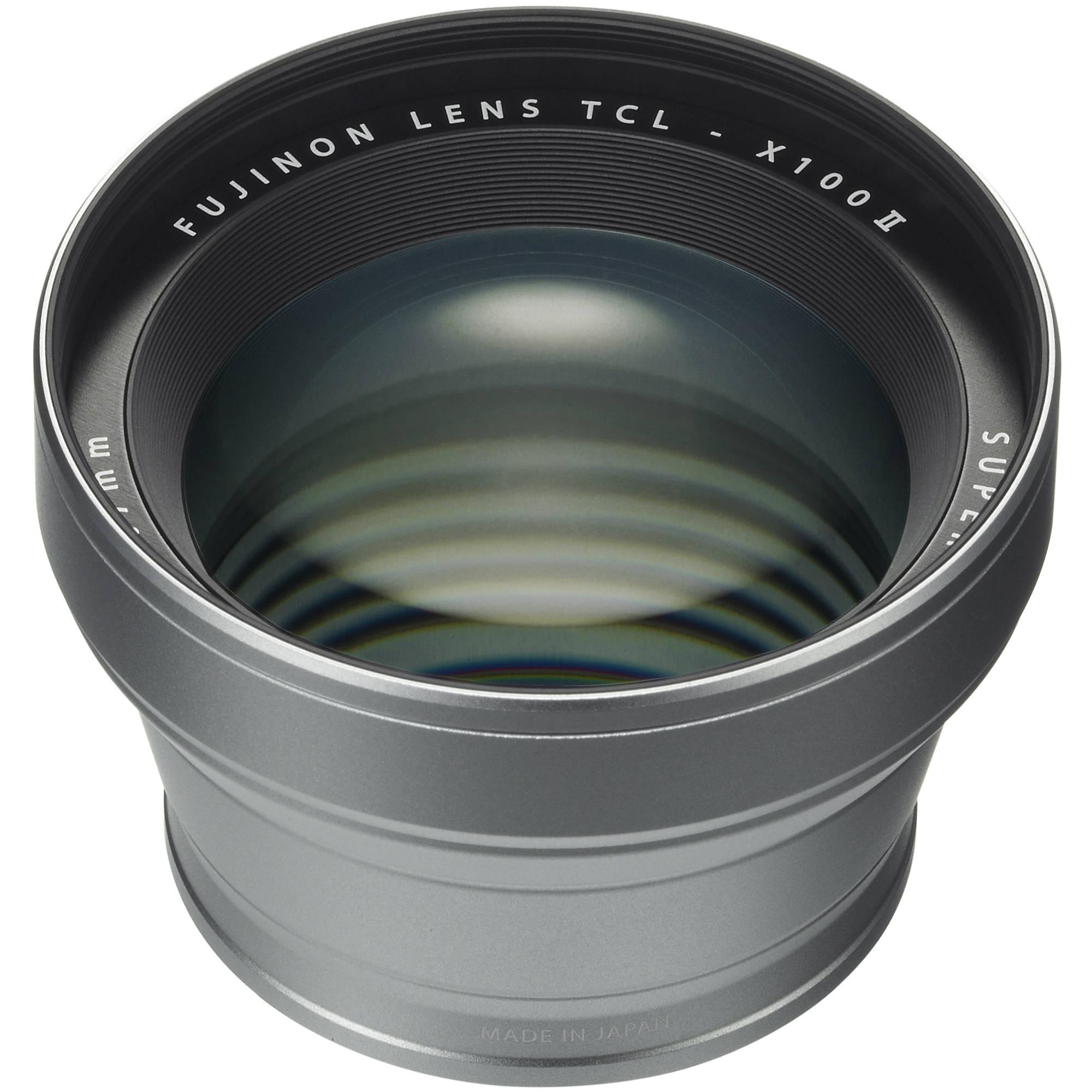 TCL-X100 II Tele Conversione Lens Silver