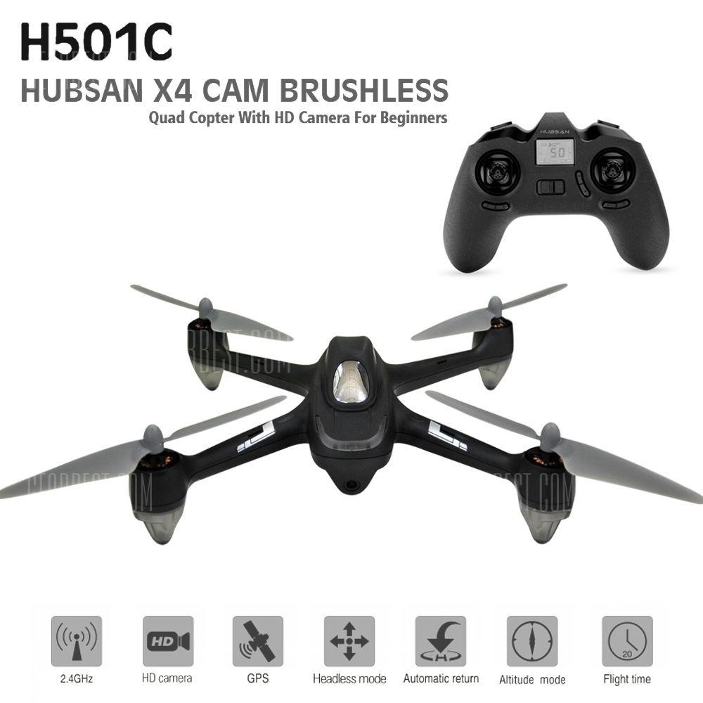 HUBSAN H501C DRONE X4 CAM BRUSHELESS