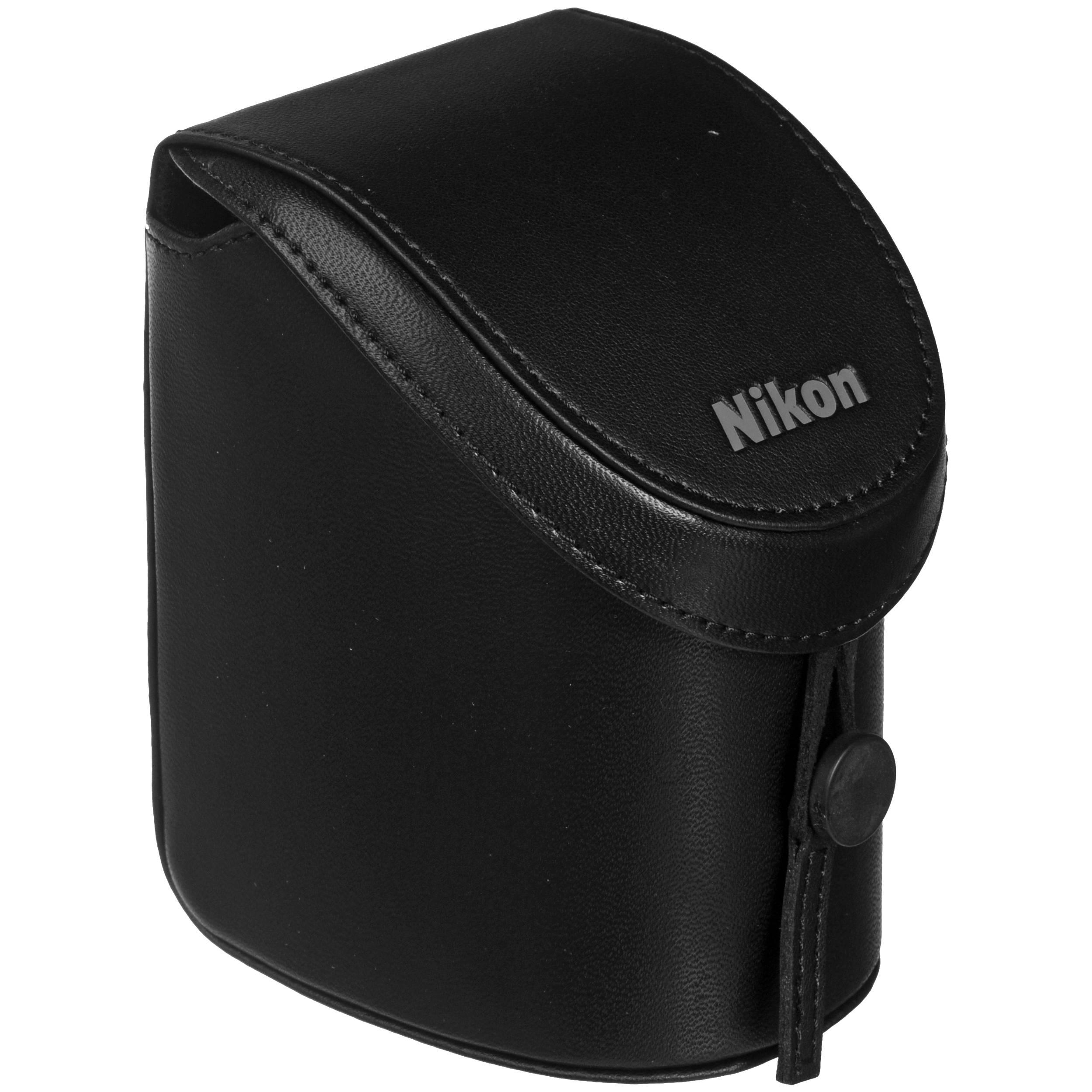 CF-N5000 Black custodia semi-soft Verticale per Nikon 1 S1, J2, J3 + 10-30mm