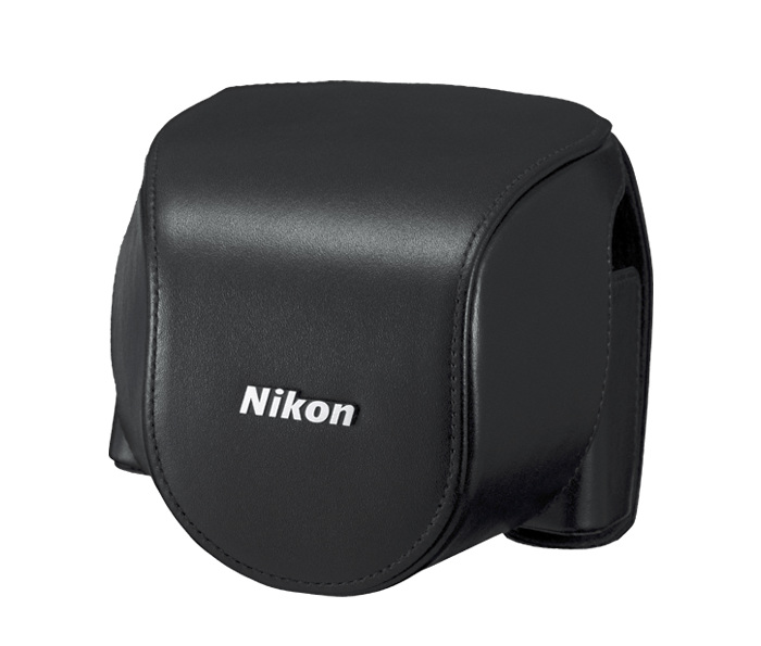 CB-N4000SA Black set custodia x Nikon 1 V2+10-30mm