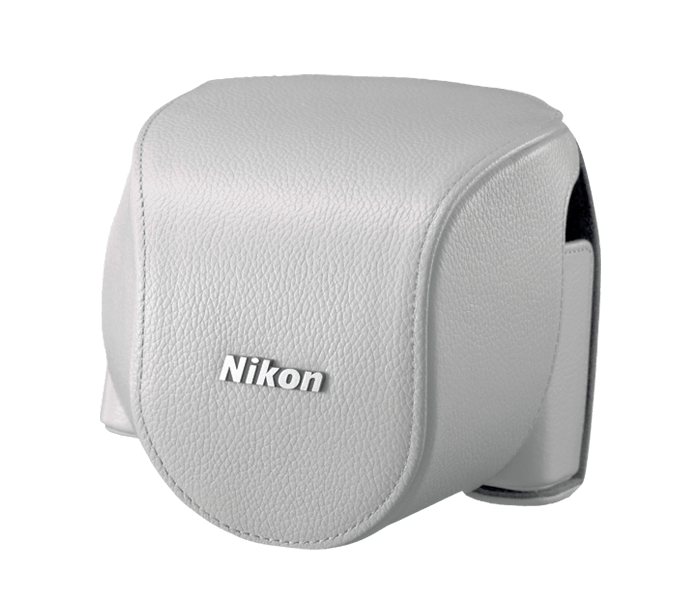 CB-N4000SB White set custodia x Nikon 1 V2+10-30mm