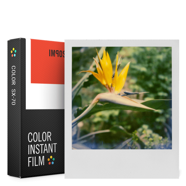 COLOR INSTANT FILM FOR USE WITH POLAROID SX_70
