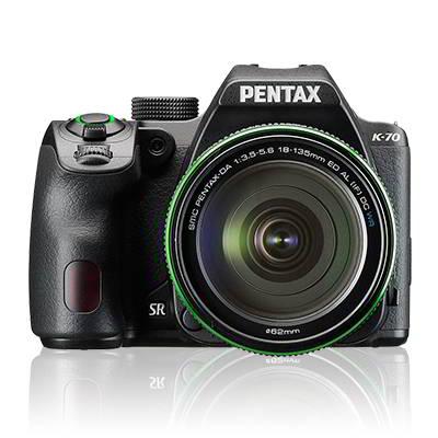 PENTAX K-70 BLACK + 18-135mm F3.8-5.6 WR