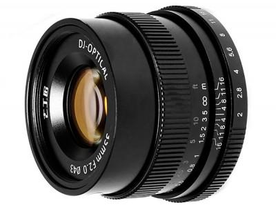 7ARTISANS 35mm f/2.0 x Sony E