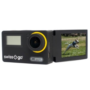SWISS GO SG-3,0W 16MP WIFI  FULL HD/4K ACTION CAM NERA