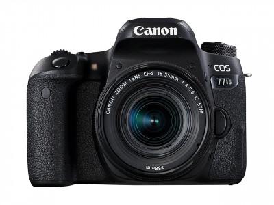 EOS 77D + Kit EF-S 18-55mm F3.5-5.6 IS STM